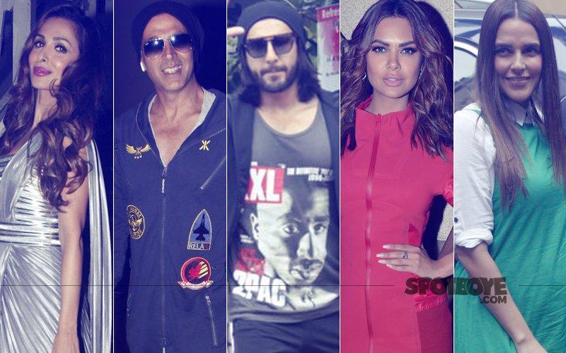 STUNNER OR BUMMER: Malaika Arora, Akshay Kumar, Ranveer Singh, Esha Gupta Or Neha Dhupia?