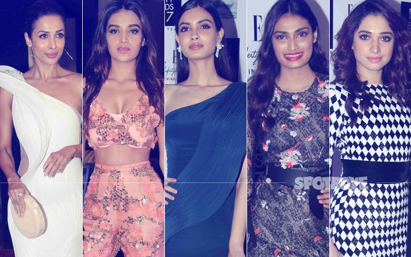 BEST DRESSED OR WORST DRESSED At Elle Awards 2017: Malaika Arora, Nidhhi Agerwal, Diana Penty, Athiya Shetty Or Tamannaah Bhatia?