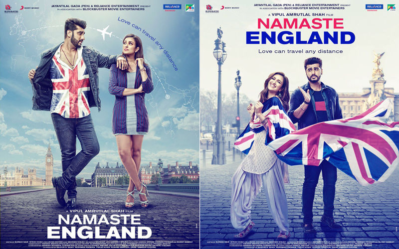Namaste England Poster: Arjun Kapoor & Parineeti Chopra Bring Back Ishaqzaade Magic With Their Crackling Chemistry