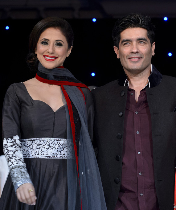 manish malhotra and urmila matondkar at an event
