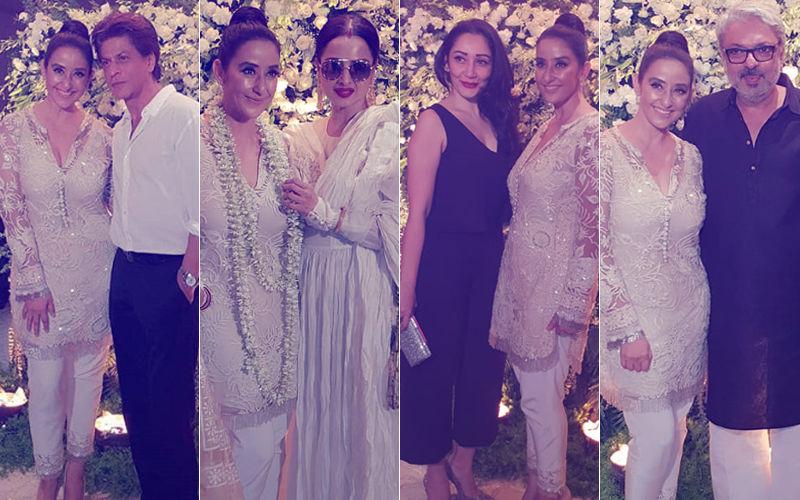 Manisha Koirala Brings In Her 48TH Birthday With Shah Rukh Khan, Rekha, Maanayata Dutt, Sanjay Leela Bhansali