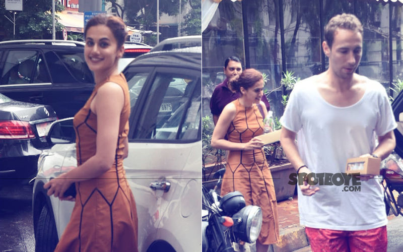 Manmarziyan Actress Taapsee Pannu's Lunch Date With Olympic Medallist Boyfriend