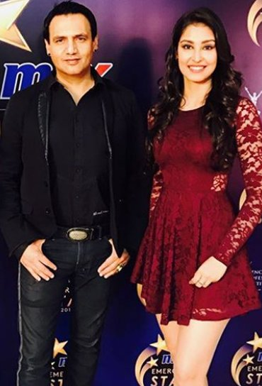 marc robinson with navneet