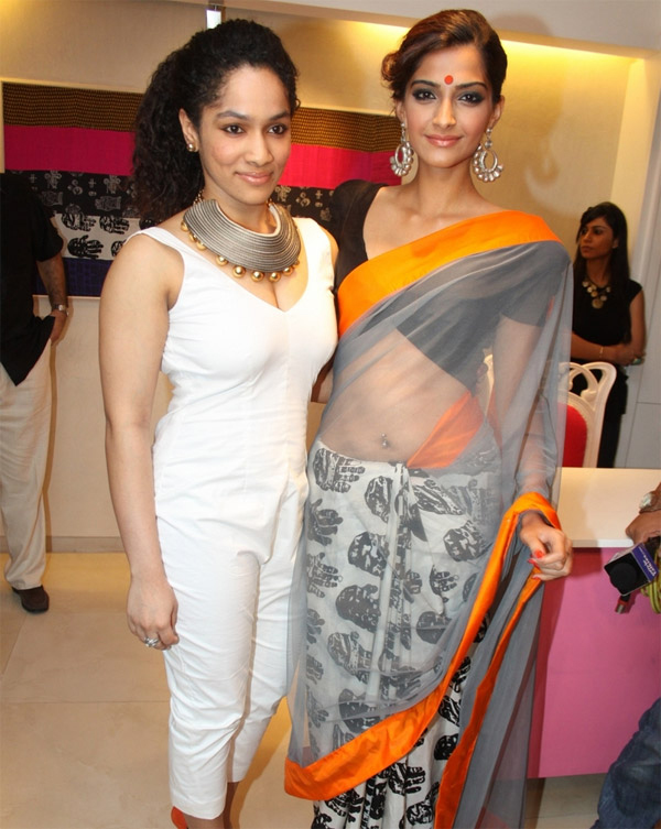 masaba gupta and sonam kapoor at an event