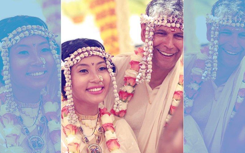 Milind Soman & Ankita Konwar Are Now Man & Wife!