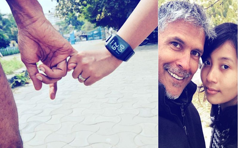 Are Milind Soman & Ankita Konwar Engaged? BTW, That's A Lovely Ring