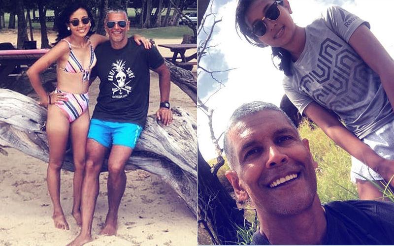Honeymoon Pics: Milind Soman & Ankita Konwar Are On A Hawaiian High