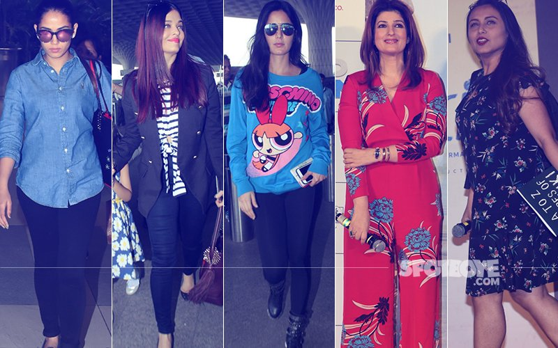 STUNNER OR BUMMER: Mira Rajput, Aishwarya Rai, Katrina Kaif, Twinkle Khanna Or Rani Mukerji?