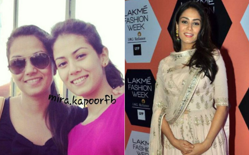 mira rajput before and after