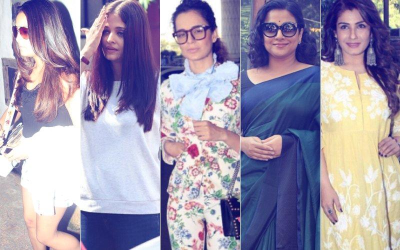 STUNNER OR BUMMER: Mira Rajput, Aishwarya Rai Bachchan, Kangana Ranaut, Vidya Balan Or Raveena Tandon?