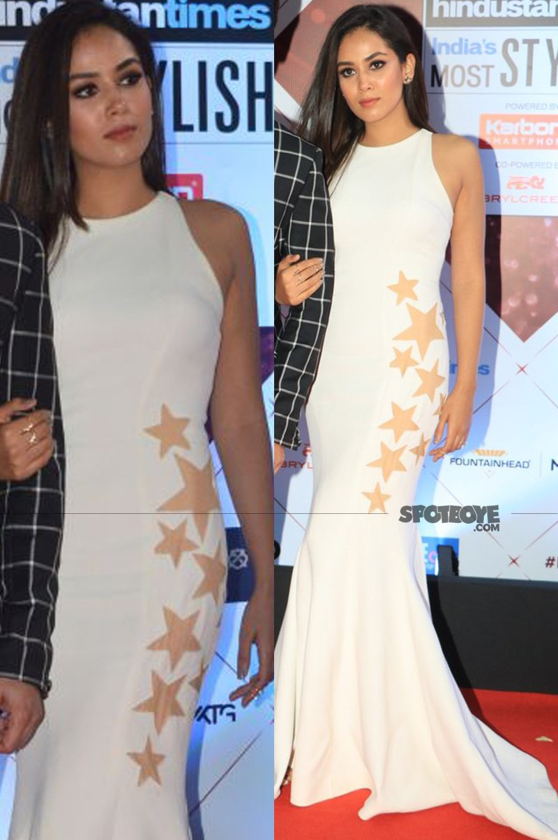 mira rajput at ht most stylish awards