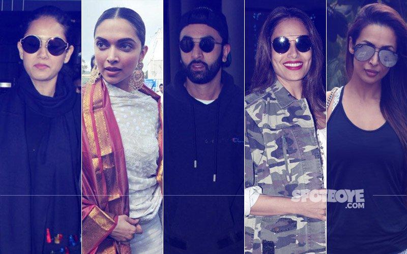 STUNNER OR BUMMER: Mira Rajput, Deepika Padukone, Ranbir Kapoor, Bipasha Basu Or Malaika Arora?