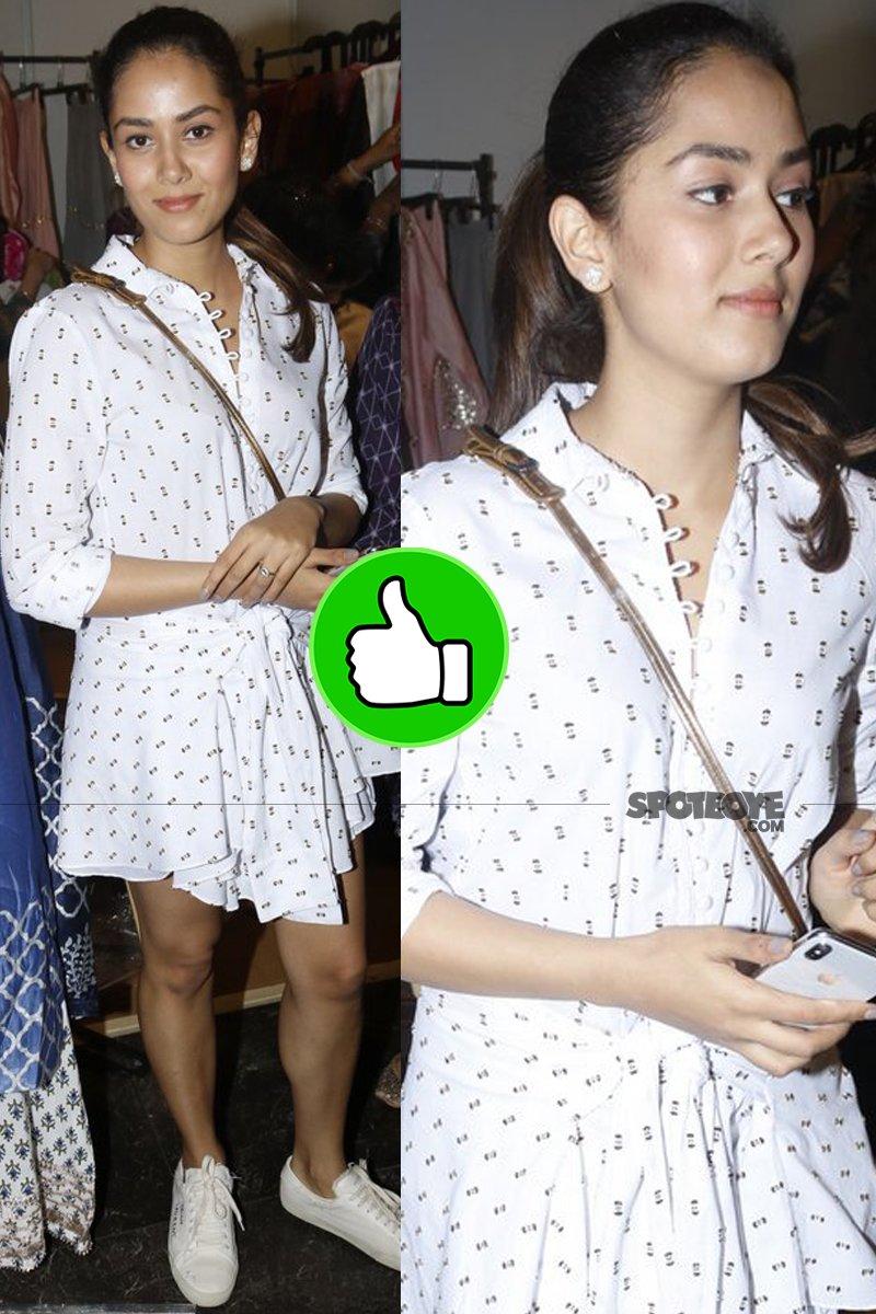 mira rajput looks too cute in that dress