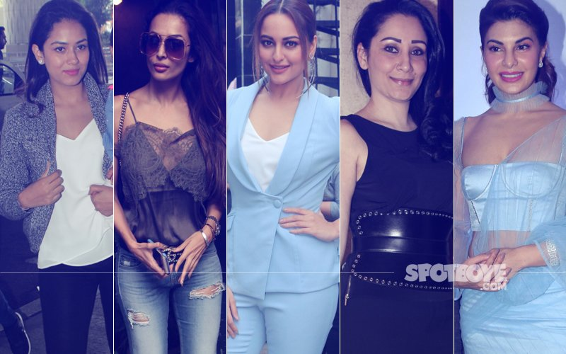 STUNNER OR BUMMER: Mira Rajput, Malaika Arora, Sonakshi Sinha, Maanayata Dutt Or Jacqueline Fernandez?
