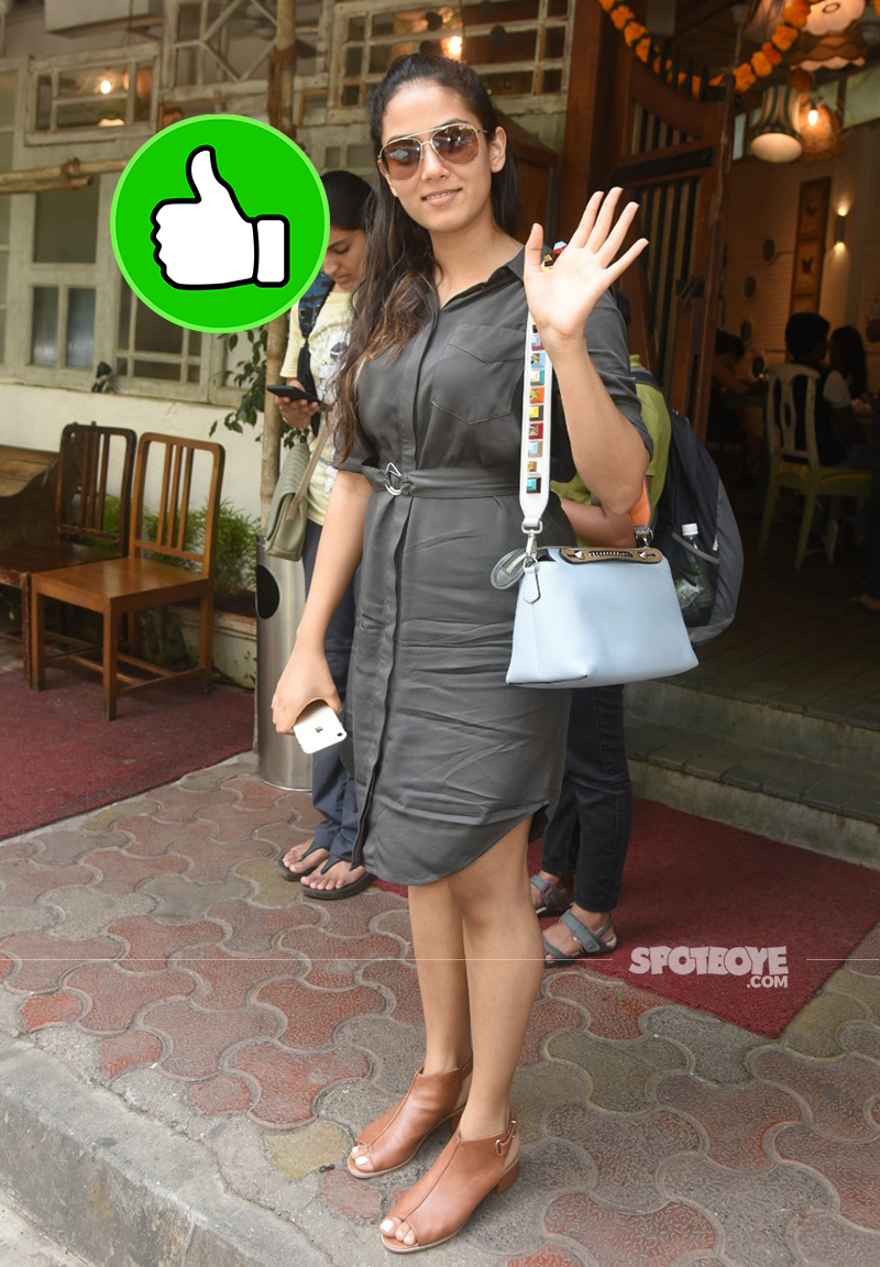 mira rajput snapped post linch outside fable