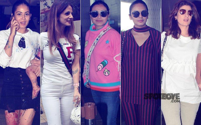 STUNNER OR BUMMER: Mira Rajput, Sussanne Khan, Rani Mukerji, Huma Qureshi Or Twinkle Khanna?