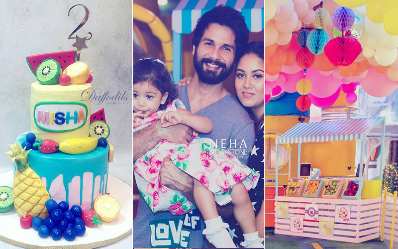 Shahid Kapoor-Mira Rajput's Daughter Misha's Two-tti Fruity-Themed Birthday Party Was A Hit. Inside Pictures & Videos