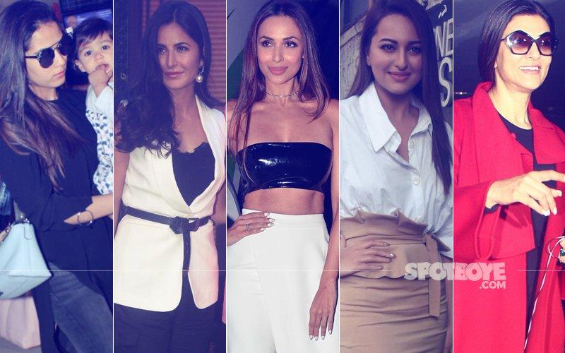 STUNNER OR BUMMER: Mira Rajput, Katrina Kaif, Malaika Arora, Sonakshi Sinha Or Sushmita Sen?