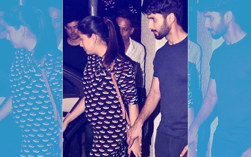 Awww! क्यूट ड्रेस में अपना बेबी बंप फ्लौंट करते हुए बड़ी प्यारी लग रहीं हैं मीरा राजपूत