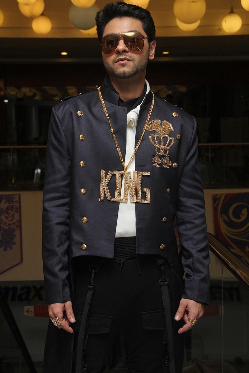mishal raheja as king singh in kumkum bhagya