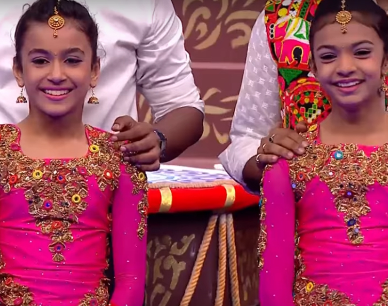 mishty and muskan on super dancer