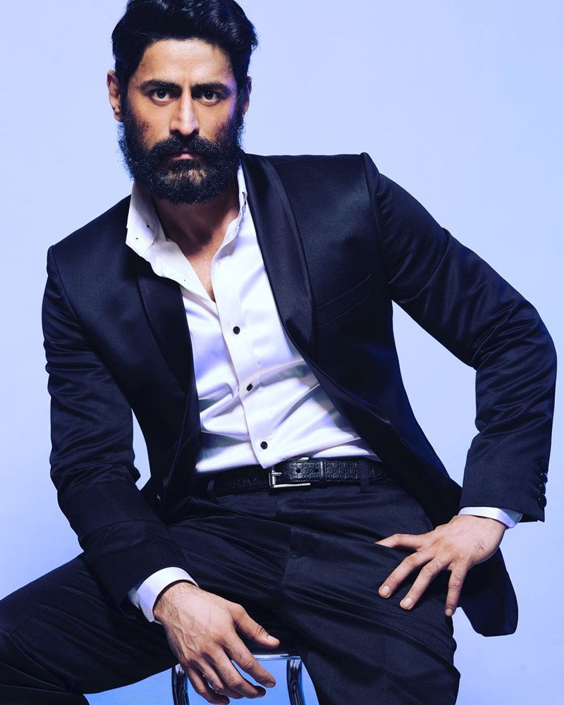 mohit raina in a rugged look