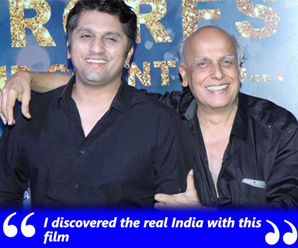 mohit suri with mahesh bhatt at an Event