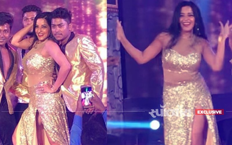 वीडियो: देखिए सनी लियोनी के आइटम सॉग पर मोनालीसा का सबसे हॉट डांस
