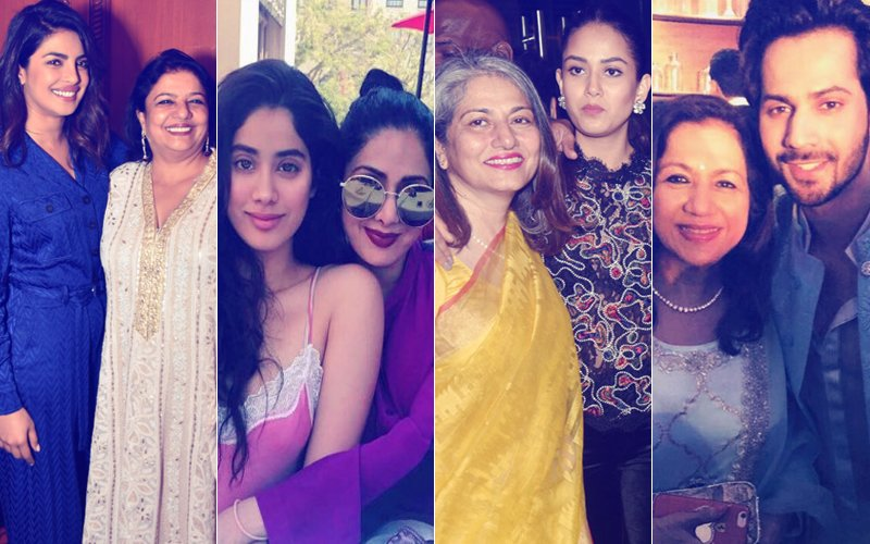 Mother's Day 2018: Priyanka Chopra, Janhvi Kapoor, Mira Rajput, Varun Dhawan Have A Special Message For Their Moms