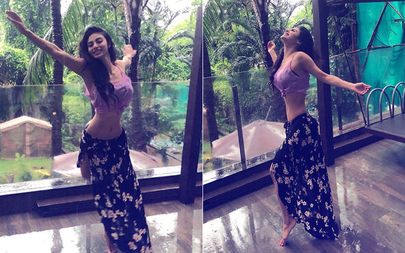 Mouni Roy Soaks In Monsoon Bliss, Dances Like No One's Watching!