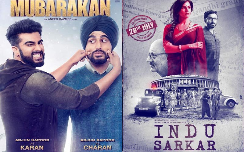 First Day Box-Office Collection: Mubarakan Garners Rs 5 Crore; Indu Sarkar Gets Only Rs 85 Lakh!