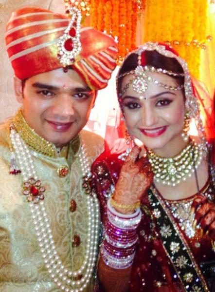 muskaan mihani tushal sobhani wedding picture