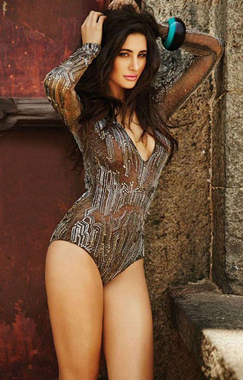 nargis fakhri posing for a shoot