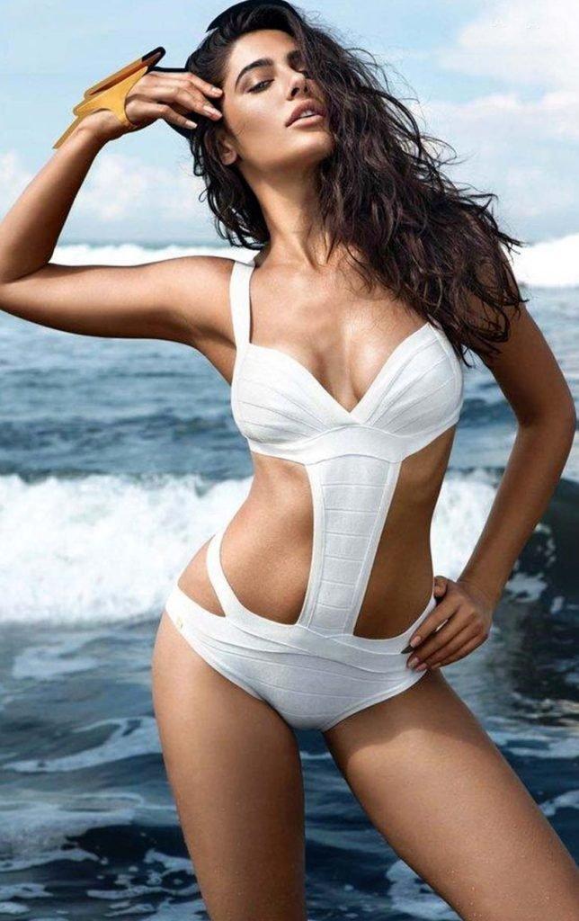 nargis fakhri sports a bikini