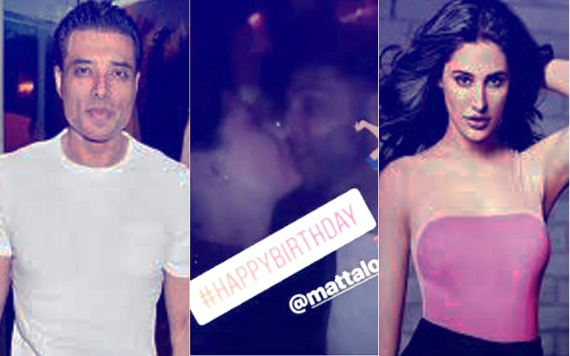 Nargis Fakhri Kisses American Director Matt Alonzo On Lips. Uday Chopra, Where Are You?