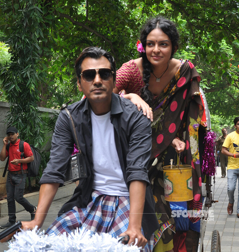 nawazuddin siddiqui bidita bag trailer launch babumoshai bandookbaaz