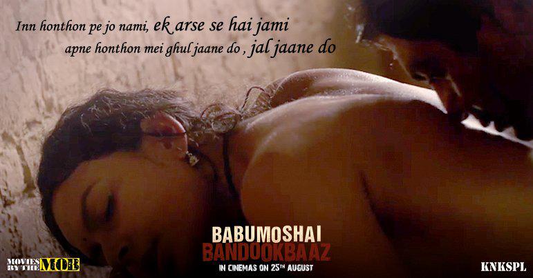 nawazuddin siddiqui bidita baig babumoshai bandokbaaz poster