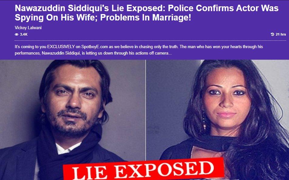nawazuddin siddiqui with wife aaliyah lie exposed