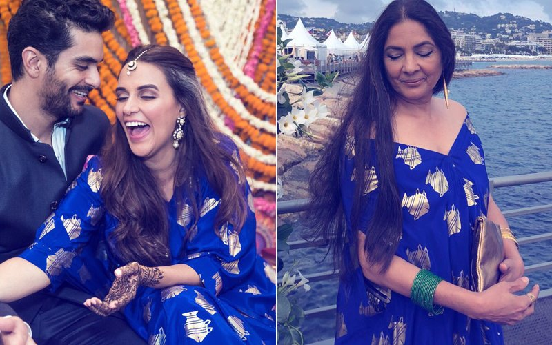 Same Pinch: Neha Dhupia's Mehendi Outfit Is Neena Gupta's Cannes 2018 Pick