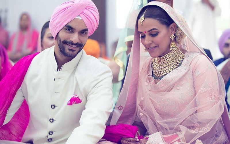 Neha Dhupia Secretly Marries Best Friend Angad Bedi. What A Surprise!