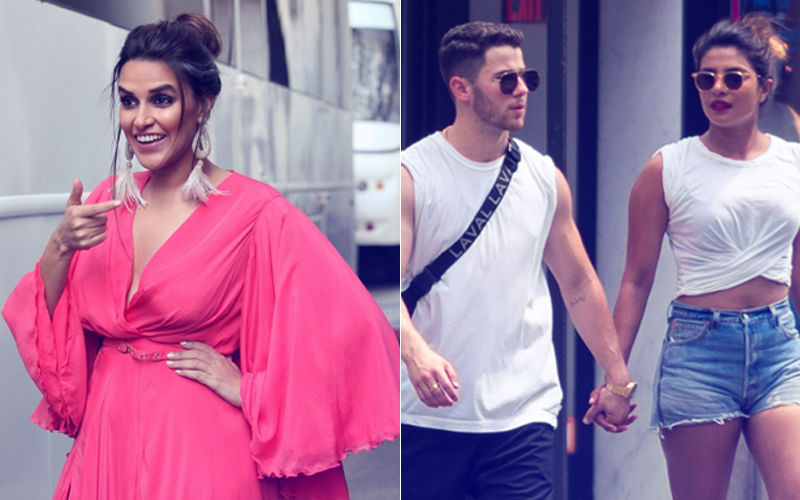 Neha Dhupia Teases Priyanka Chopra With Nick Jonas. Don't Miss It!