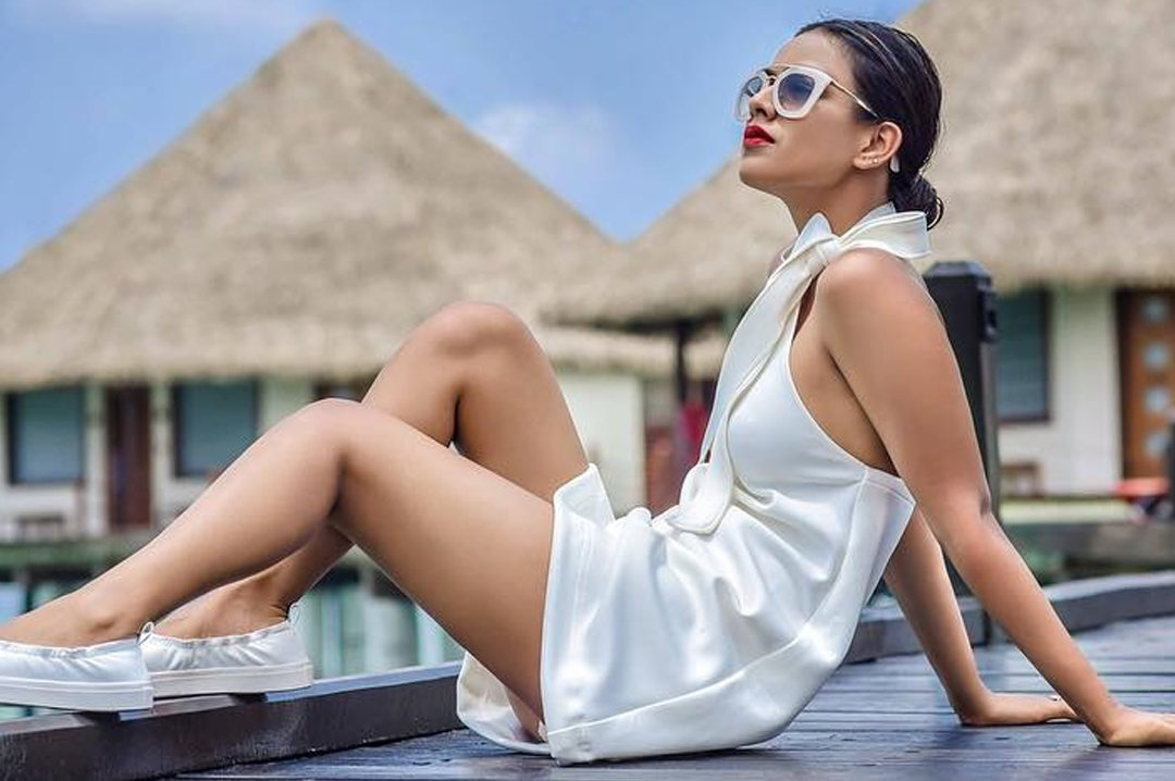 nia sharma poses for a photo shoot