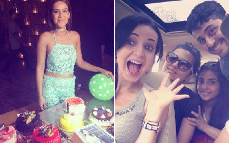 IN PICS: Here's How TV Hotties Nia Sharma & Sanaya Irani Are Celebrating Their Birthdays
