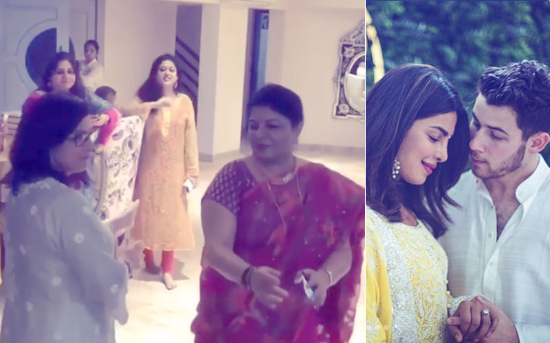 Priyanka Chopra & Nick Jonas' Mothers Dance It Out In This Unseen Video From The Engagement Party