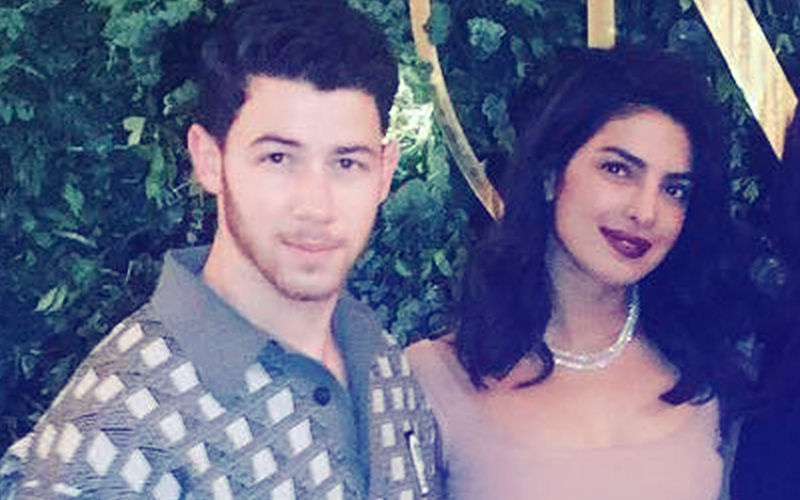 Priyanka Chopra & Nick Jonas Exchanged These Diamond Bracelets At Their Engagement Bash, View Pic
