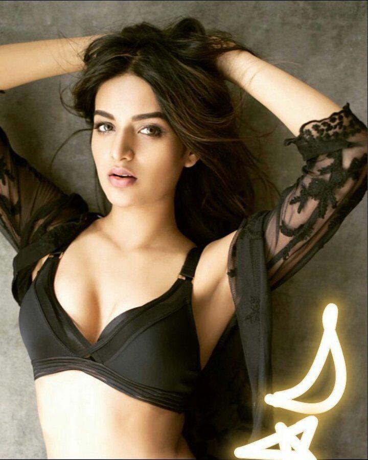 nidhhi agerwal in a itsy bikini