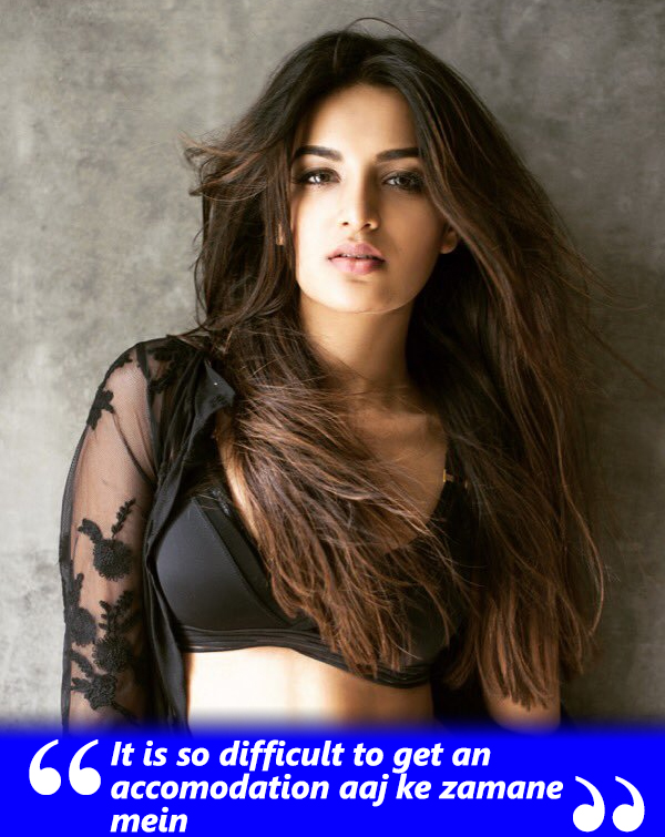 nidhhi agerwal talks to spotboye about being removed from her house