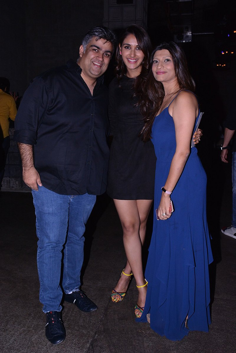 nikita dutta with haasils producer siddharth malhotra and wife