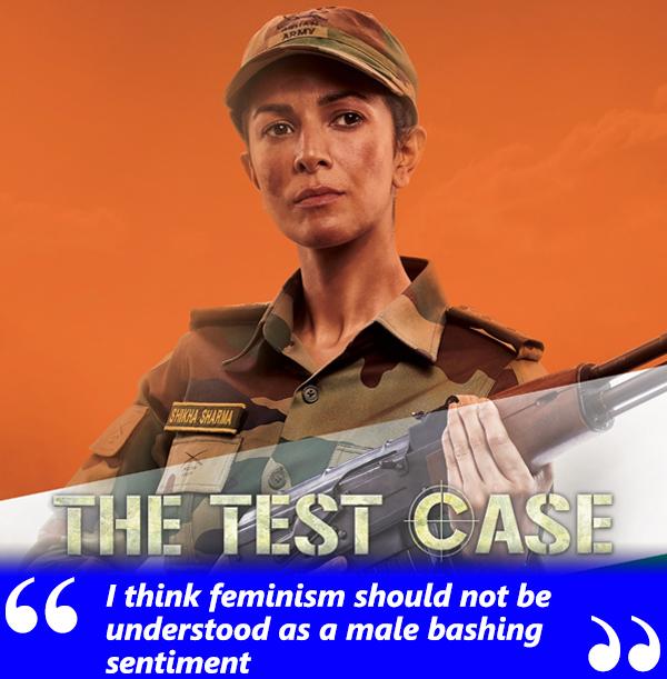 nimrat kaur in the test case webseries