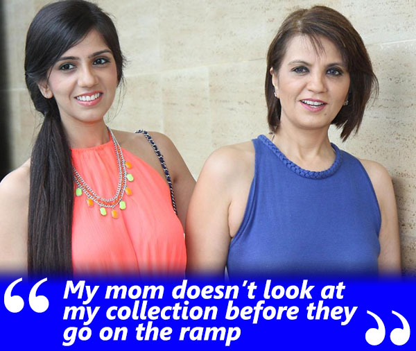 nishka lulla exclusive interview her mother doesn't see her collections prior to it going on the ramp